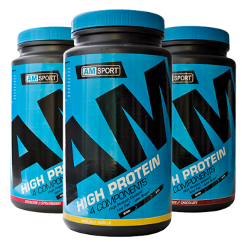 AMSport High Protein 4 Components - Dose 600g